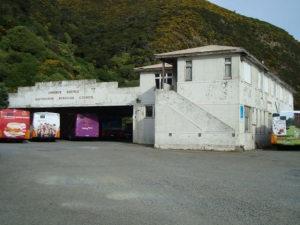 Korohiwa Bus Depot Eastbourne