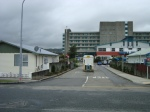Entrance to Hutt Hospital from Pilmur Street